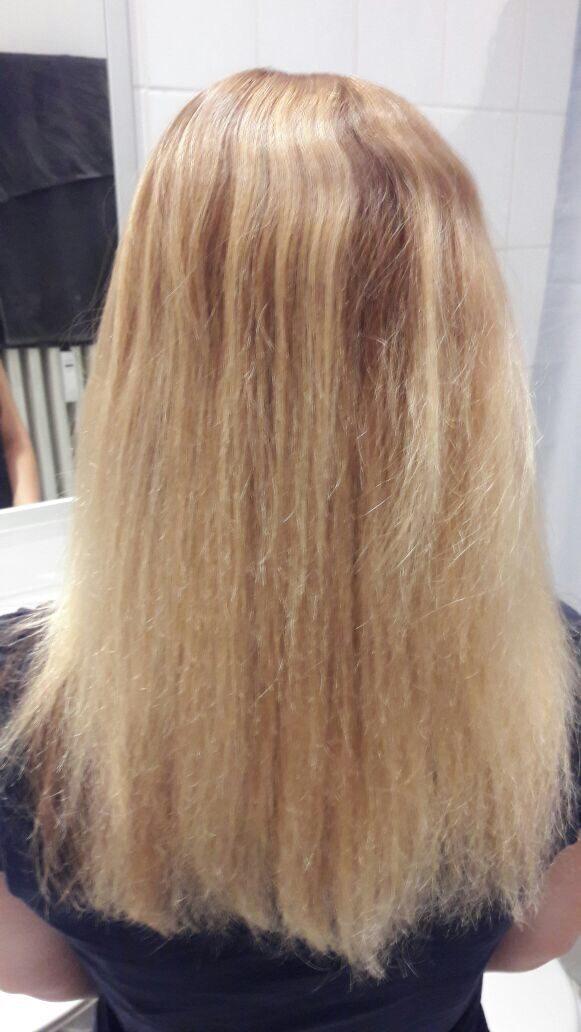 Dauerwelle haare strecken